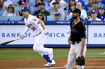 Beaty's 3-run HR helps Dodgers recover to beat Marlins 10-6