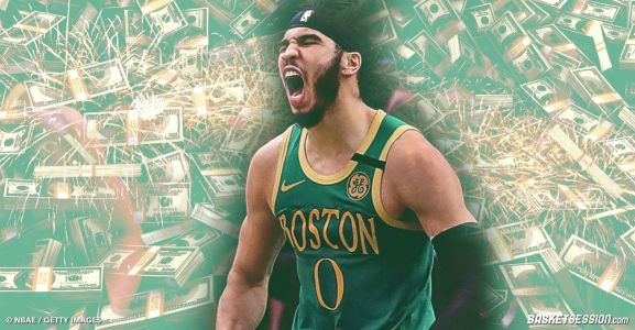 Jayson Tatum prolonge aux Boston Celtics et touche le pactole