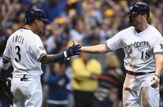 Milwaukee's 4-run barrage in 1st inning leads to 7-2 win in Game 6 of NLCS