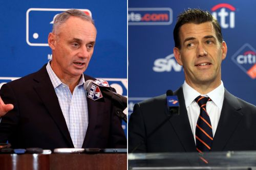 Rob Manfred talked with new Mets GM about that 'boycott' tweet