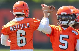 Baker Mayfield reveals why he's 'fortunate' to play with Tyrod Taylor