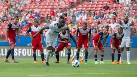 Whitecaps rally late to force draw with Dallas