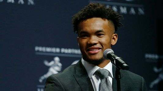 Kyler Murray's Heisman Trophy mirrors Baker Mayfield's, but is one-of-a-kind