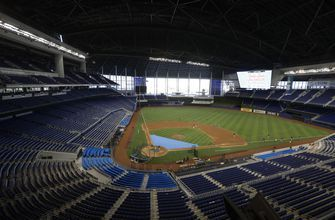 A new look for Marlins Park's season debut: a 1st-place team