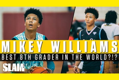 Mikey Williams the BEST 8th Grader in the WORLD?!? 😱