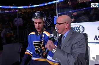 Pietrangelo: 'The boys are having fun, and we got the win on home ice'