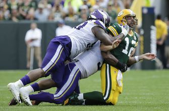 A 'little sore,' Packers' Rodgers gets ready for Redskins