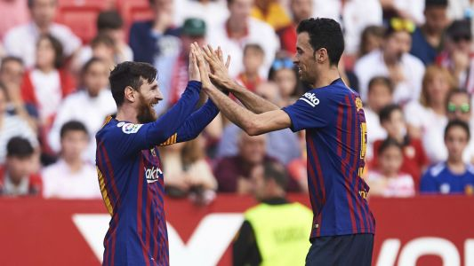 Busquets takes pride in majestic Messi after his latest Barca hat-trick