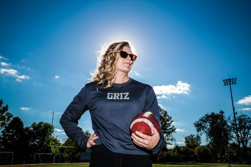 Cheerleader turned defensive back hopes to play college football