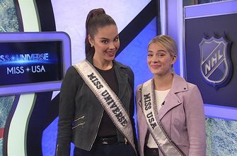 Miss Universe and Miss USA send Ron Burgundy a special message