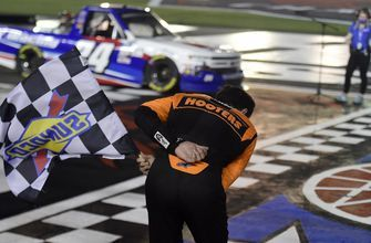 "Chase Elliott claims Kyle Busch bounty, takes ""spur of the moment"" bow with Truck Series win"