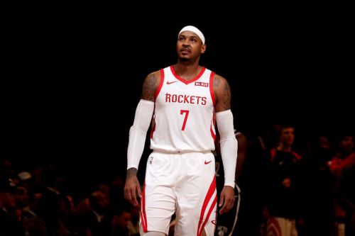 Report: Carmelo Anthony to Part Ways with the Houston Rockets
