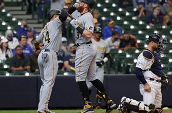 Pirates score pair of runs in the eighth to defeat Detroit, 4-2