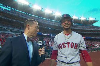 Ken Rosenthal talks with Mookie Betts on his All-Star MVP pick