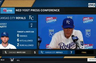 Yost on Whit: 'He's been as consistent as anyone in Major League Baseball'