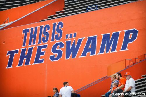 "Tarquin calls the Swamp ""special"" after visiting Florida Gators"