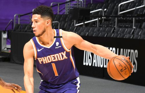 Devin Booker's ejection can't stop Suns from beating Lakers