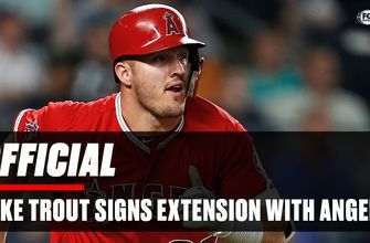 Mike Trout's new contract sparks social media frenzy