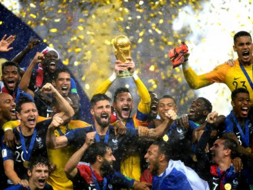 Teen star Mbappe shines as France wins second World Cup title, beating Croatia 4-2 in final