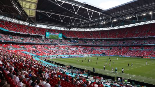 Over 60,000 fans to attend Euro 2020 semi-finals & final as Wembley gets green light for 75 per cent capacity