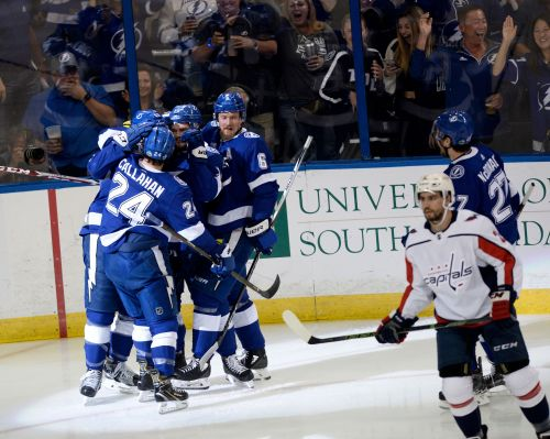 Lightning strike quickly, grab 3-2 series lead against Capitals