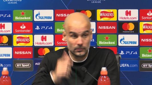 Guardiola laments 'cruel' Champions League exit to Spurs