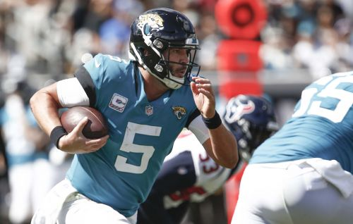 Self-destructing Jaguars have no one to blame but themselves for believing in Blake Bortles