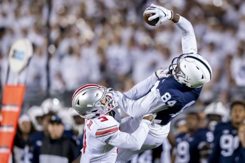 Juwan Johnson, Penn State WR grad transfer, visiting Oregon Ducks