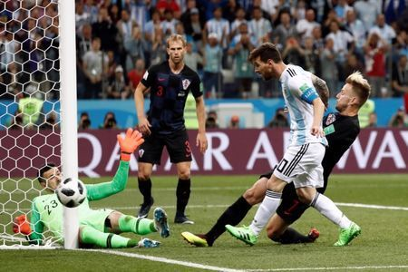 Stressed Messi enduring a World Cup of nightmares