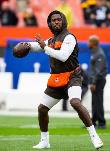 Cleveland Browns finally wear Color Rush uniforms they've waited years to debut
