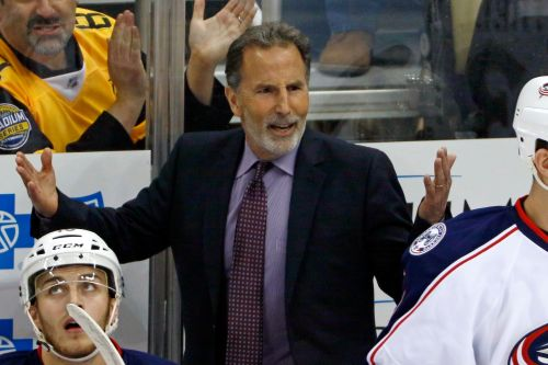 Coach John Tortorella chastises Blue Jackets forward for 'Pee Wee' play
