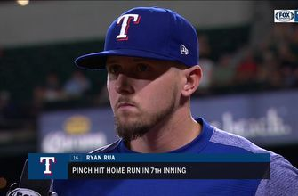 Ryan Rua's Pinch-Hit Home Run helps Rangers hold off Orioles