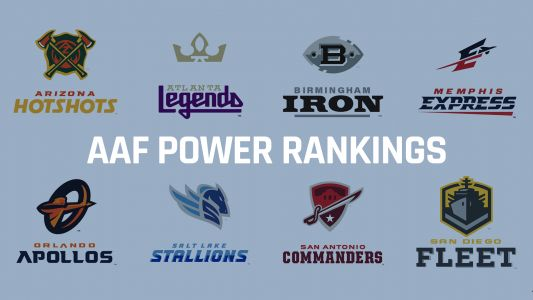 AAF power rankings: Orlando flexes, Atlanta flops for Week 3