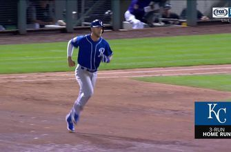 WATCH: Dozier smashes a three-run dinger to pull the Royals closer