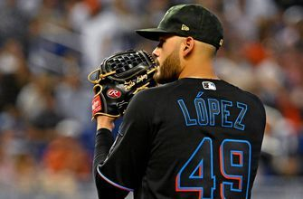 Pablo Lopez throws 1-hitter in 7 scoreless innings as Marlins top Mets for series win