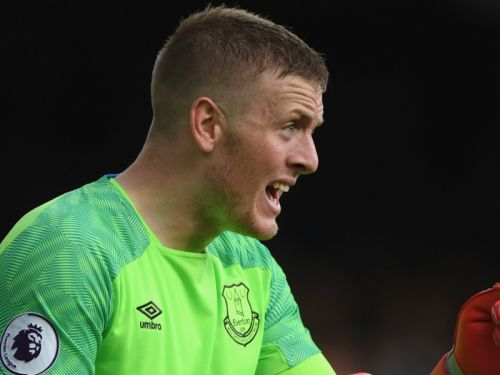 Pickford: I don't think I'll be putting out any more tweets about Nando's!