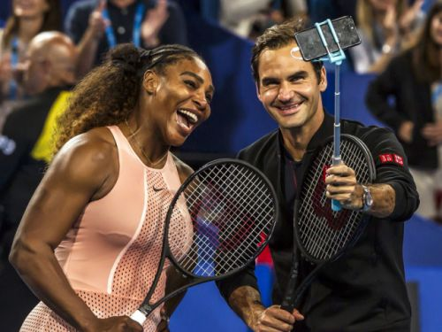 'It was so much fun': Tennis titans' Serena Williams and Roger Federer battle of the sexes