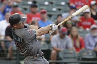 Goldschmidt homers, Corbin sharp in D-backs 6-4 win at Texas