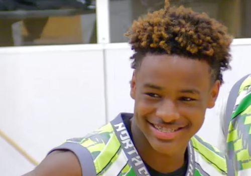 LeBron James Jr. nearly throws down first dunk