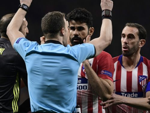 Diego Costa out of Juventus return leg after early yellow