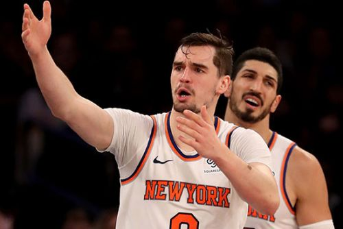 Underachieving Knicks forward left wondering what his role is