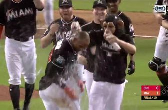 WATCH: Isaac Galloway walks it off to beat Reds 1-0