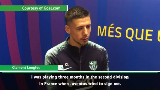 I made the right decision not joining Juventus - Lenglet