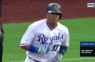 WATCH: Three Royals home runs weren't enough to top Blue Jays