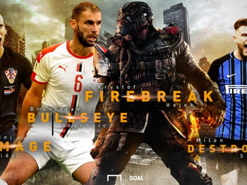 VOTE NOW | Ivanovic, Vida OR Škriniar? Who resembles more to FIREBREAK of Call of duty: Black Ops 4?
