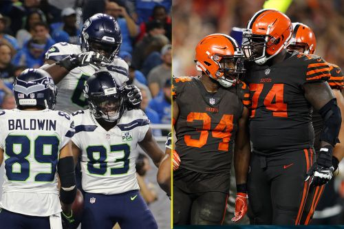 Best NFL touchdown celebration of 2018: Seahawks or Browns?