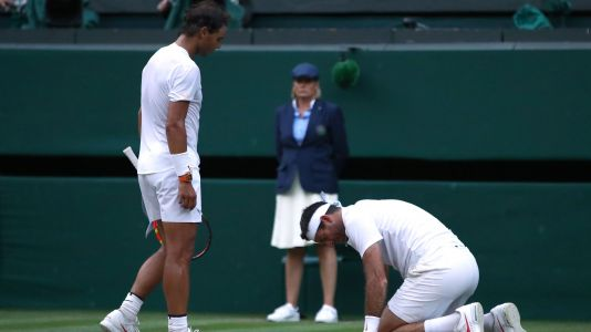 Nadal's incredible act of sportsmanship after Wimbledon epic