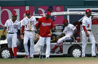 Nationals place Howie Kendrick on DL with Achilles injury