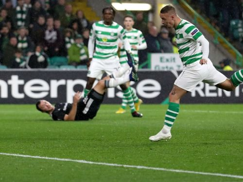 Celtic 1 Rosenborg 0: Griffiths late show lifts Hoops