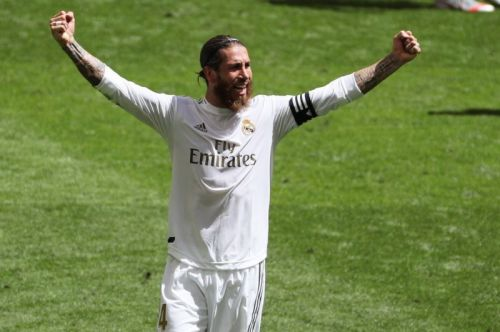 Sergio Ramos, Real Madrid continue win streak, late La Liga push